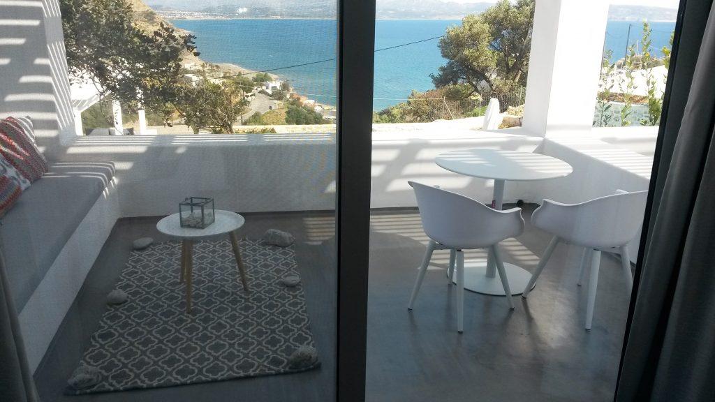 Galini Breeze Sea view from Studio